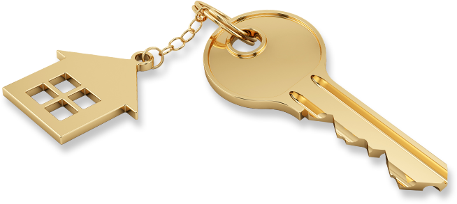 Image result for gold house keys png